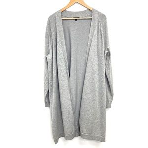 Verve Ami | Long Grey Duster Sweater